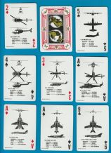 Collectible Non-standard playing cards Aircraft Recognition 1979